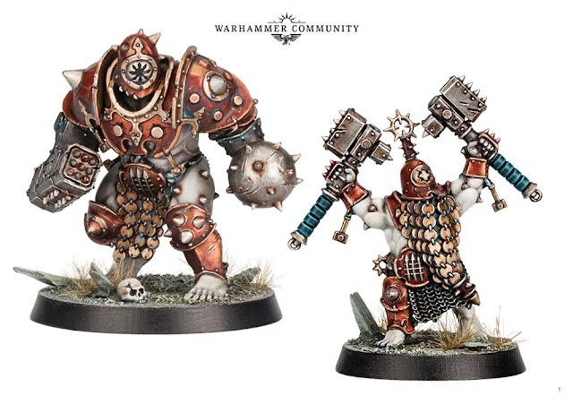 Iron golems WarCry Ogor Duardin