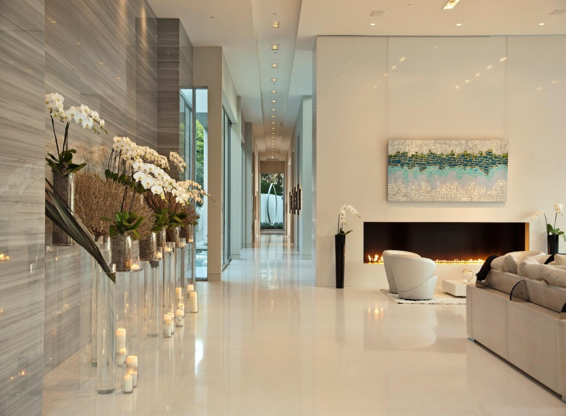 World Of Architecture Large Modern Home With Lovely City