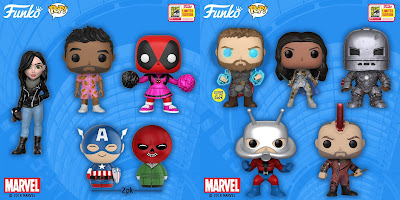 San Diego Comic-Con 2018 Exclusive Marvel Comics POP!, Dorbz & Rock Candy Vinyl Figures by Funko