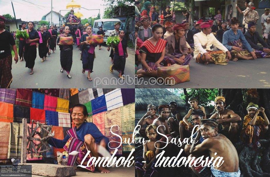 Gambar kegiatan pesta budaya suku Sasak asli Lombok