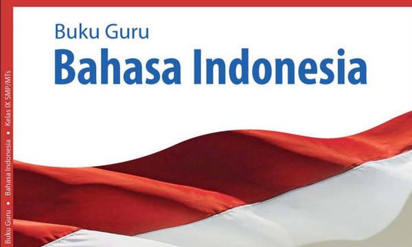 Buku Guru Bahasa Indonesia Kelas 9 Kurikulum 2013 Revisi 2018 PDF