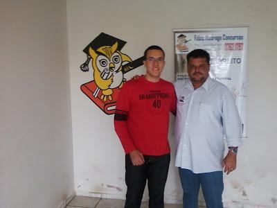 Prof. Fábio Madruga e seu aluno Felipe Rodrigues Aprovado no TRT_RN e Educação-PE! !