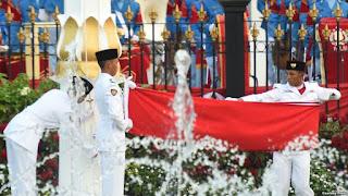 Alldi Padlyma, Siswa SMAN 1 CIlilin Yang Mengibarkan Bendera di Istana Negara