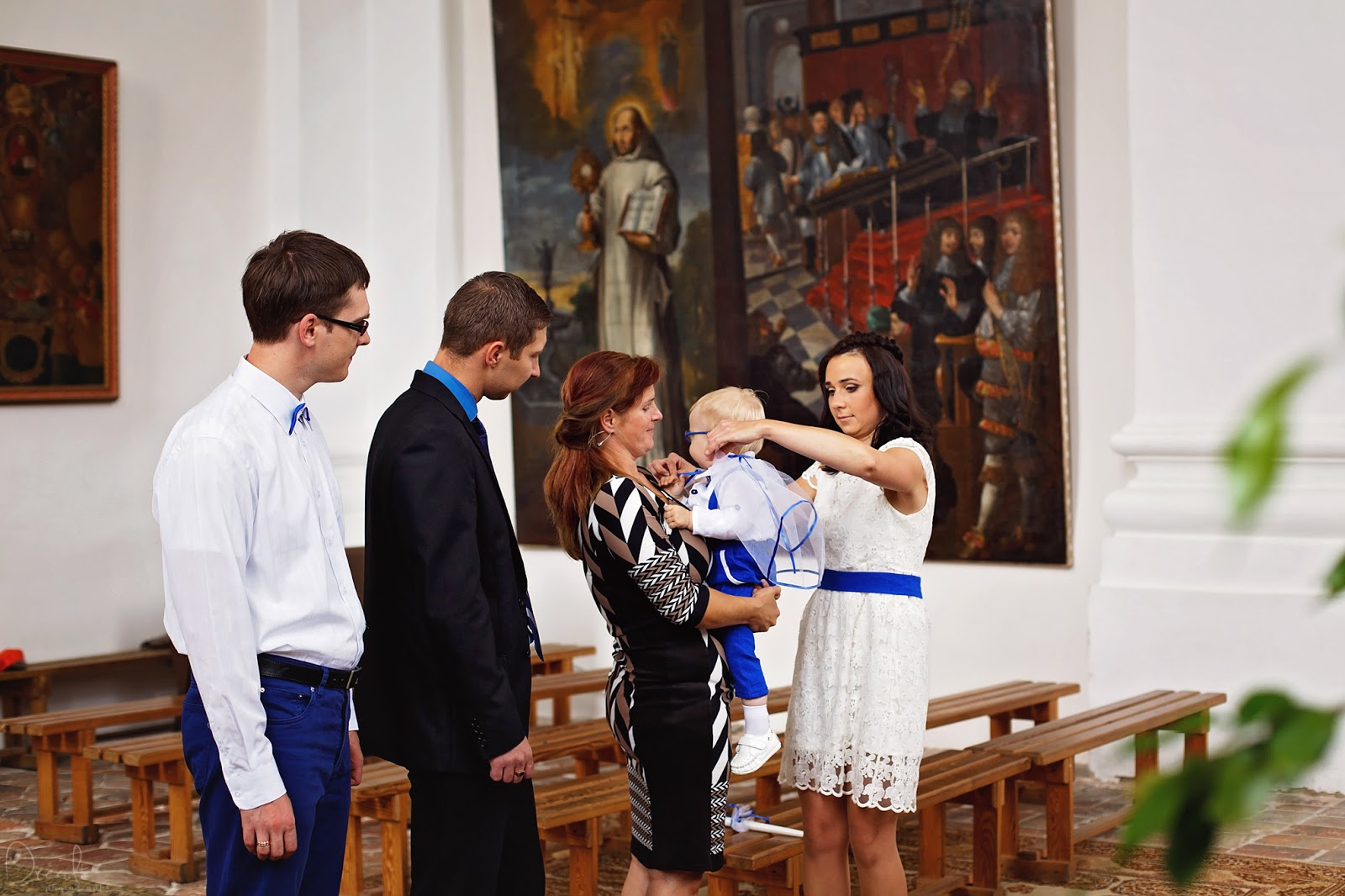 Krikštynų ceremonija