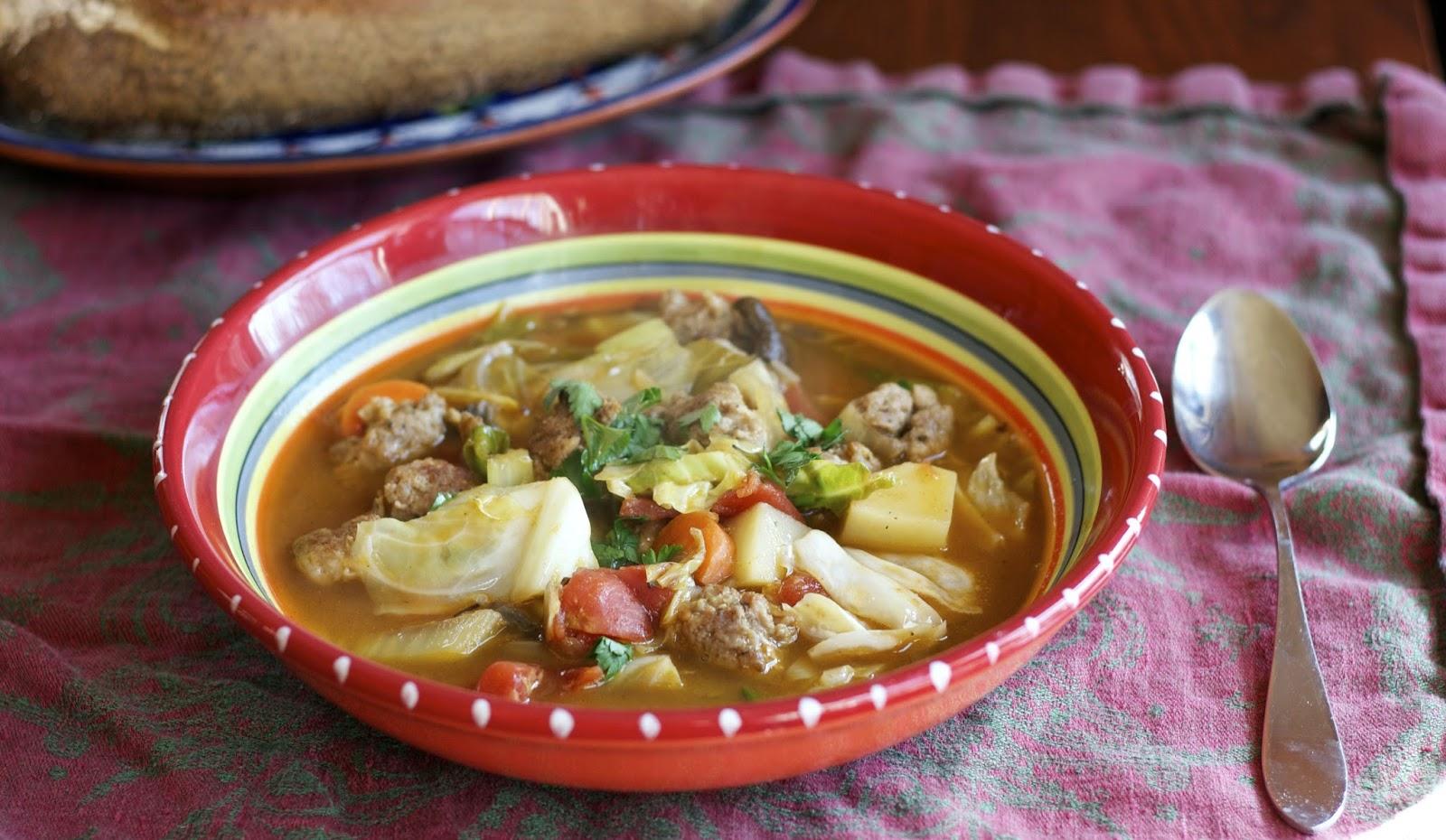 culinária da russia shchi