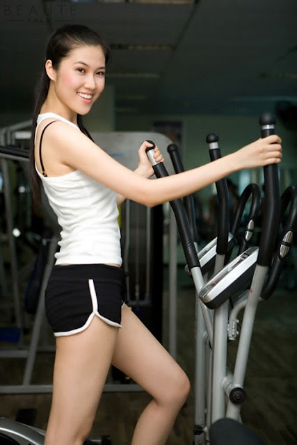 tập gym để giảm cân