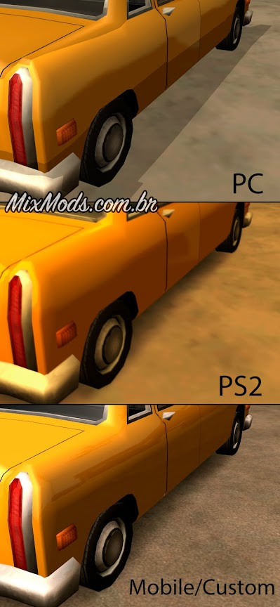gta sa san mod skygfx hd graphics gráficos reflexos mobile ps2