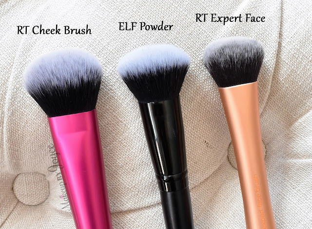 Real Techniques Cheek Brush Expert Face ELF Selfie Ready Powder Review