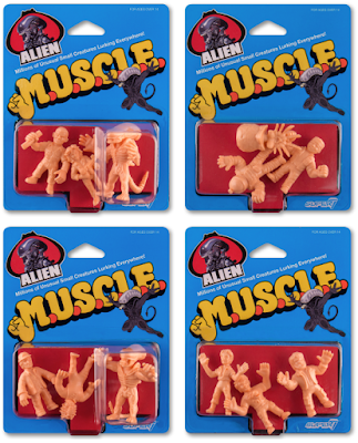 Alien M.U.S.C.L.E. Keshi Rubber Mini Figures by Super7