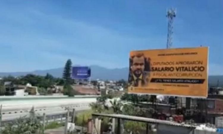 Lanzan campaña contra diputados de Morelos por aprobar sueldo vitalicio a fiscales