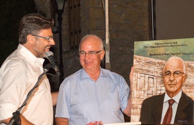 Βασίλης Λαμπρινουδάκης:  Ο  υπέροχος αρχαιολόγος που τιμήθηκε από τον Σύλλογο «Ο Καββαδίας»