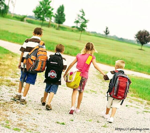 Όταν τα παιδιά πάνε μόνα τους στο σχολείο...