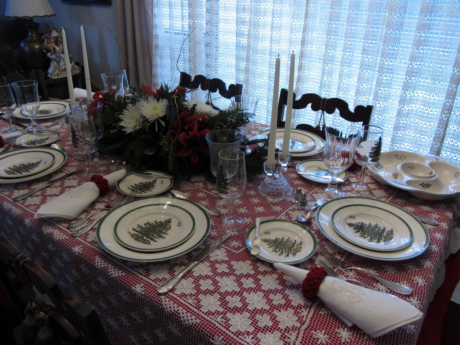Creative Journeys: Advent 2012 Oh Christmas Tree Tablescape