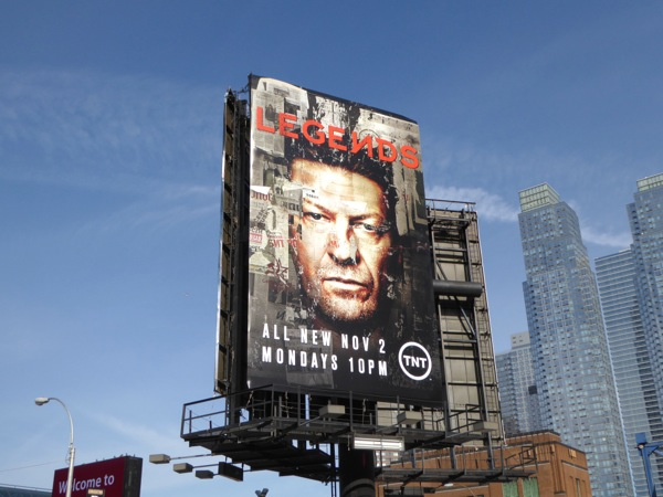 Legends season 2 billboard NYC