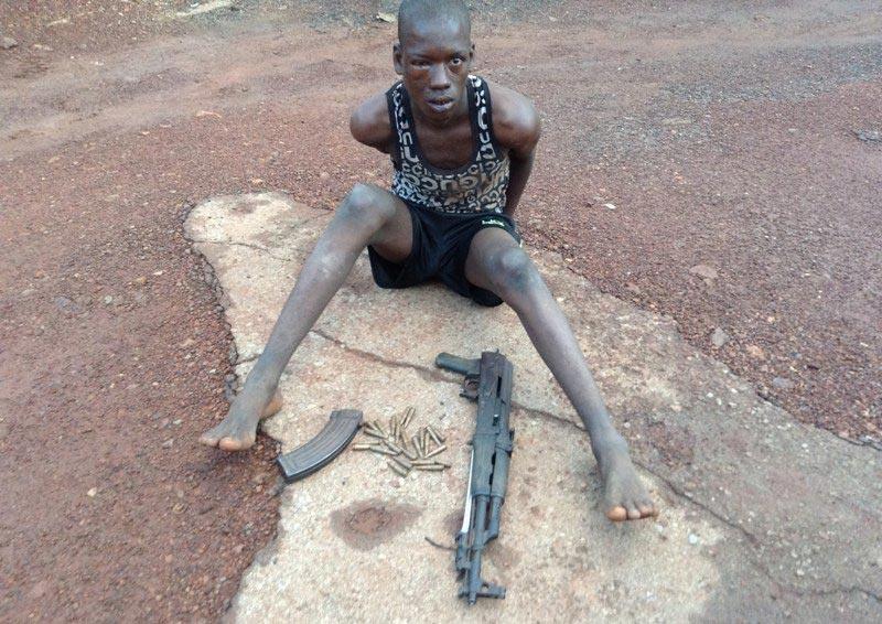 Fulani herdsman Ibrahim Adamu nabbed with Ak47 in Enugu