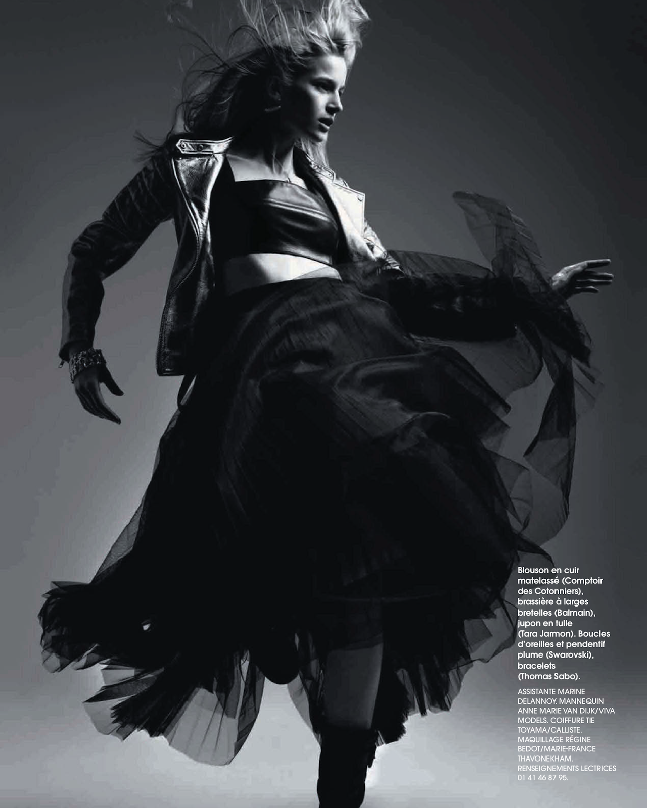 Soft Cuir Anne Marie Van Dijk By Bruno Ripoche For Marie Claire
