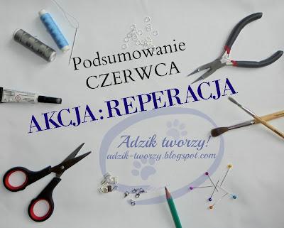 AKCJA:REPERACJA - Podsumowanie CZERWCA 2016