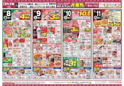 【PR】フードスクエア/越谷ツインシティ店のチラシ12月8日号
