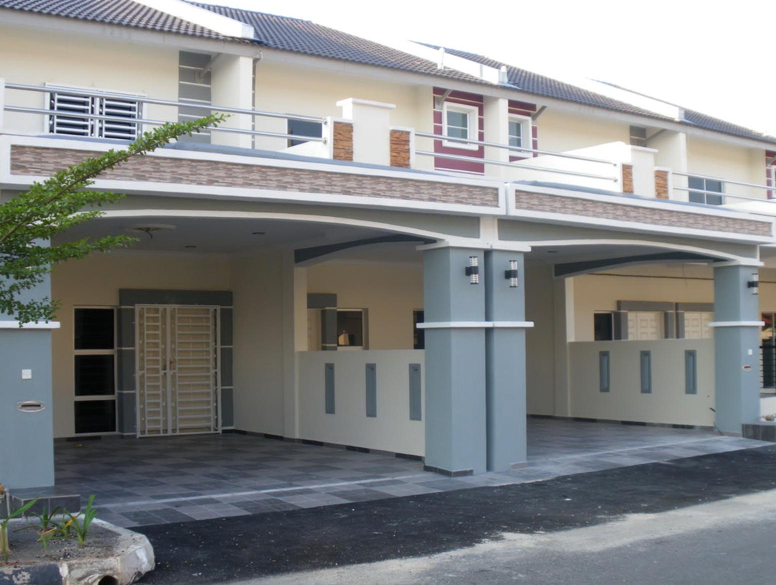 Naluri Kehidupanku: Rumah : Idea of Car Porch Roof Design