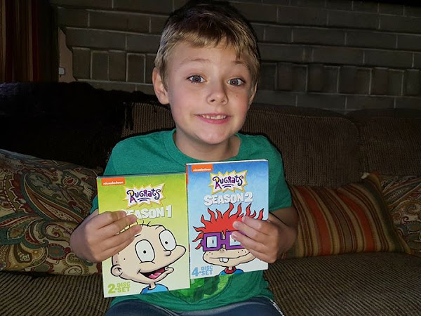 RUGRATS Seasons 1 & 2 Coming Soon to Nickelodeon DVD + #Giveaway