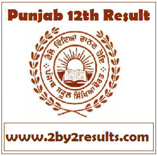 Punjab 12th result 2018 - PSEB 12th result 2018 for Arts Commerce Science