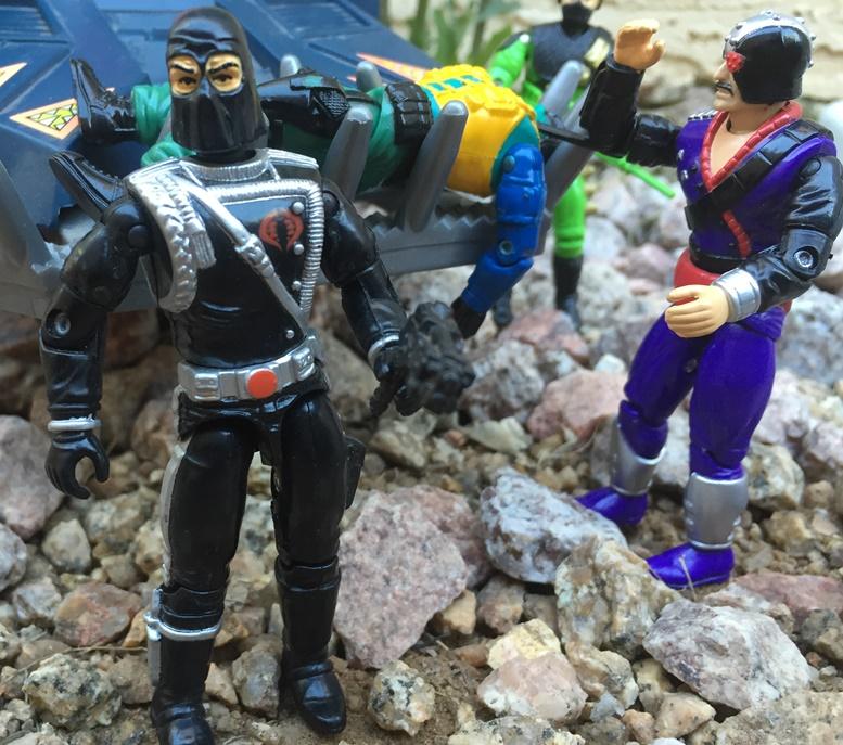 1994 Major Bludd, Beach Head, 1993 Cobra Commander, Firefly, Detonator