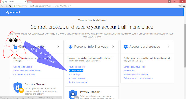 How to Delete all Google Search History From Google Account