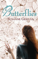 book cover of Butterflies by Susanne Gervay published by Kane Miller