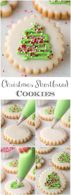 Delicious Christmas Shortbread Cookies