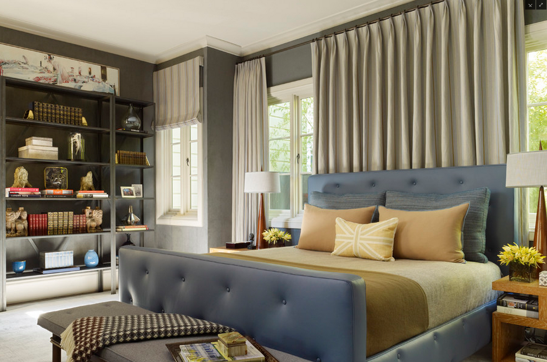 Above, The Window Placement Is No Longer An Issue, The Bed Can Be In Front  Of Part Of The Windows.