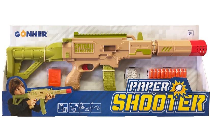 Paper Shooter de Gonher