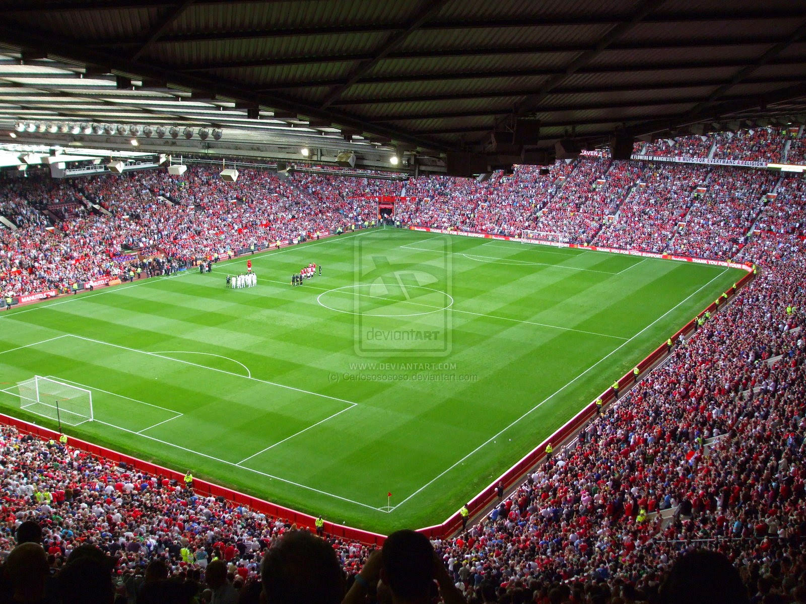 Dream vocation. Dream Theater. The Old Trafford Stadium