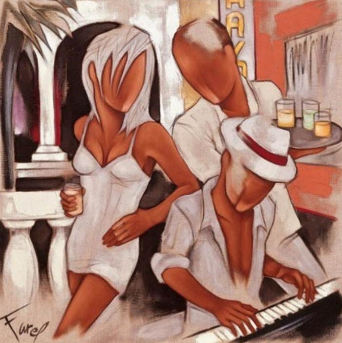 Современные художники Франции. Pierre Farel 13