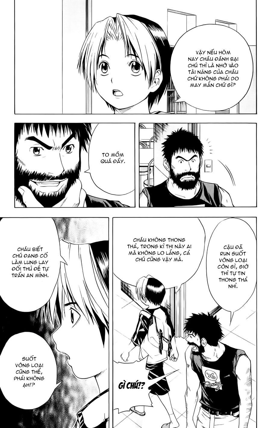 Hikaru No Go hikaru no go chap 79 trang 4