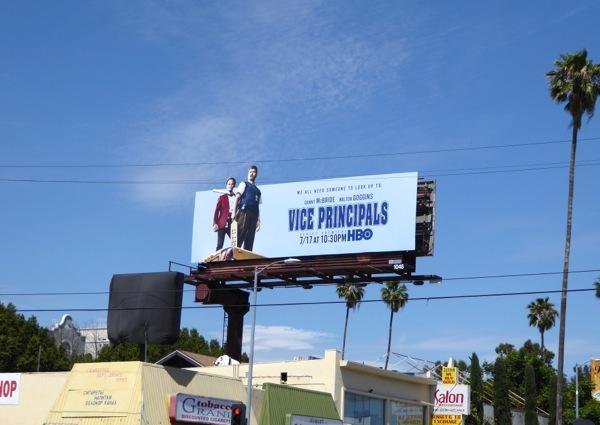 Vice Principals series premiere billboard