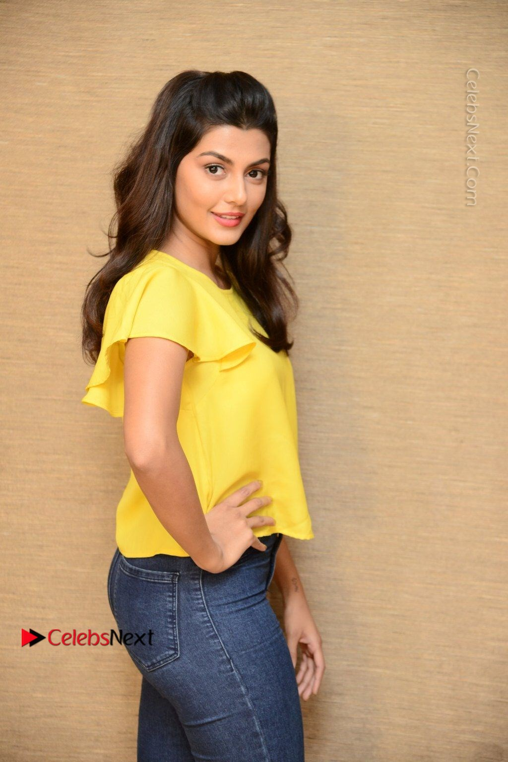 Actress Anisha Ambrose Latest Stills In Denim Jeans At Fashion Designer So Ladies Tailor Press Meet Com 0014 Anisha Ambrose Latest Stills In Denim Jeans At Fashion Designer S O Ladies Tailor