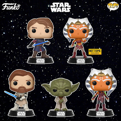 Star Wars: The Clone Wars Pop! Vinyl Figures by Funko