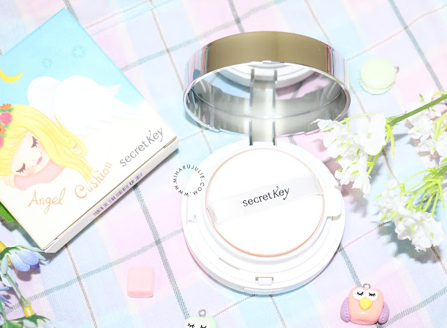 Review- Secret Kiss Face Coating Angel Cushion