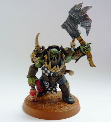 Ironjawz Brute with boss choppa