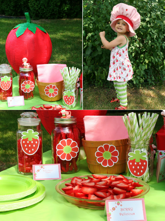 DIY Strawberry Shortcake Birthday Party Ideas - Party ...