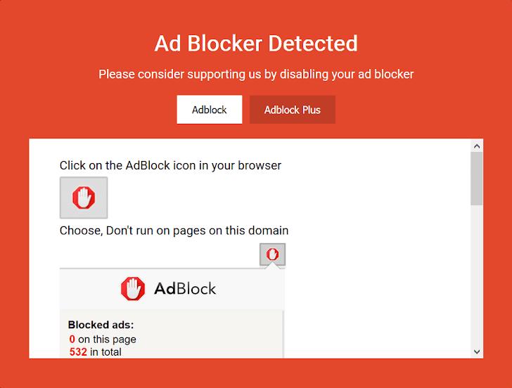 Cara Memasang Adblock Killer Di Blog