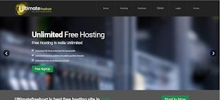 Cara Daftar Hosting Gratis di Ultimate Free Host