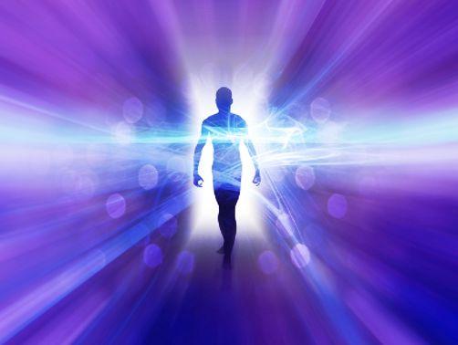 Image result for imagem de um ser espiritual no tubo violeta