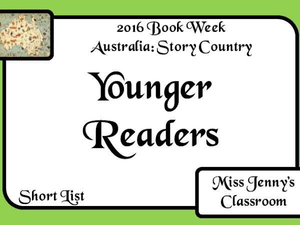 Book Week 2016: Short List: Younger Readers