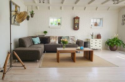 Living room nyaman, impian keluarga, rumah impian keluarga