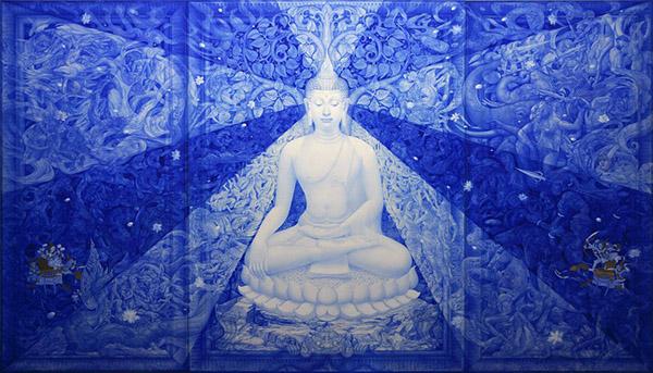 Thongchai Srisukprasert [ธงชัย ศรีสุขประเสริฐ] (Thailand) - Buddha art