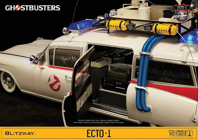Blitzway 1/6th Scale Ghostbusters Ecto-1 Car