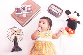 Ashvini Baby Portrait