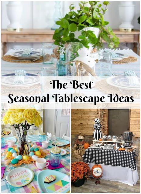 Dining room home decor ideas. Seasonal tablescape decor. Wayfair decor.
