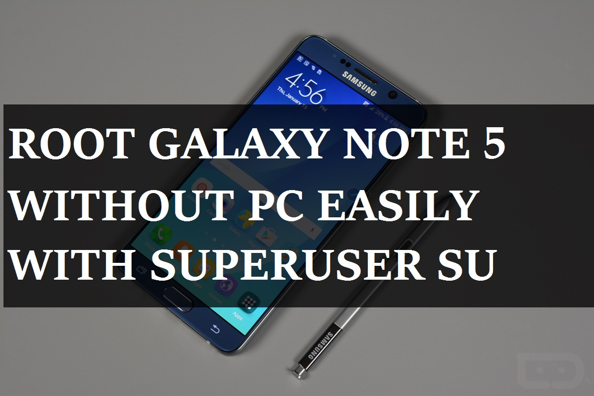 root note 5 without pc